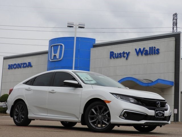 New 2019 Honda Civic EX-L 1.5L I-4 DI DOHC Turbocharged