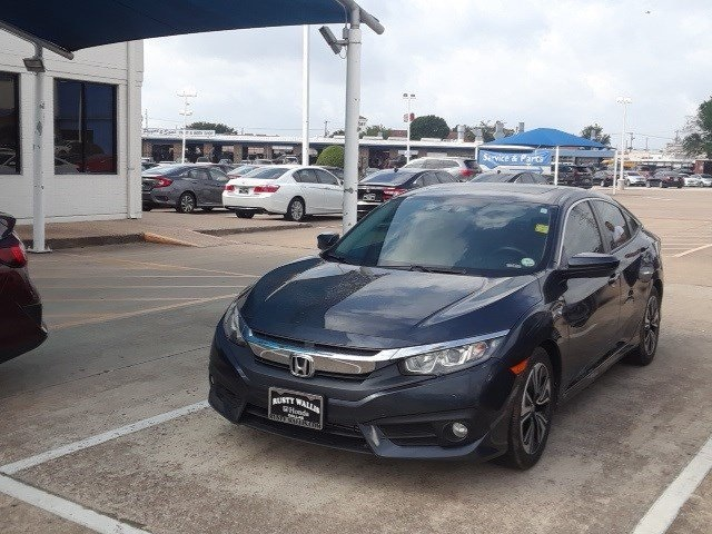 Certified Pre Owned 2016 Honda Civic Ex L 1 5l I 4 Di Dohc Turbocharged 4d Sedan In Dallas Jrv9286 Rusty Wallis