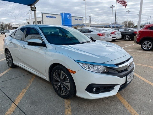 Pre-Owned 2017 Honda Civic EX-L 1.5L I-4 DI DOHC Turbocharged