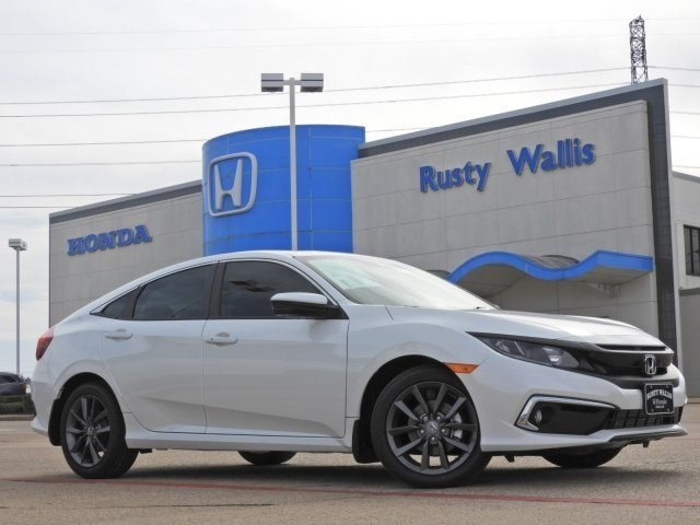 New 2020 Honda Civic EX-L 1.5L I-4 DI DOHC Turbocharged