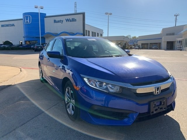 Certified Pre Owned 2018 Honda Civic Lx