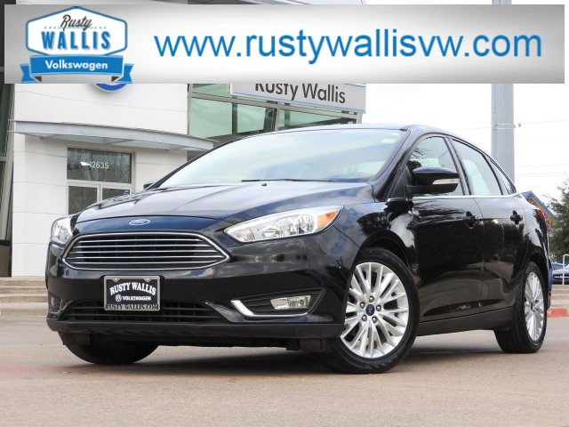 Pre Owned 2017 Ford Focus Anium 4d Sedan In Dallas Clp7930 Rusty Wallis Honda