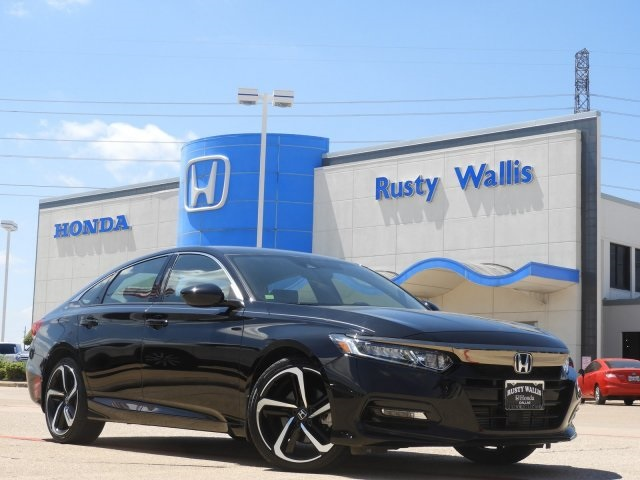 Certified Pre-Owned 2018 Honda Accord Sport 1.5T I4 DOHC 16V Turbocharged VTEC