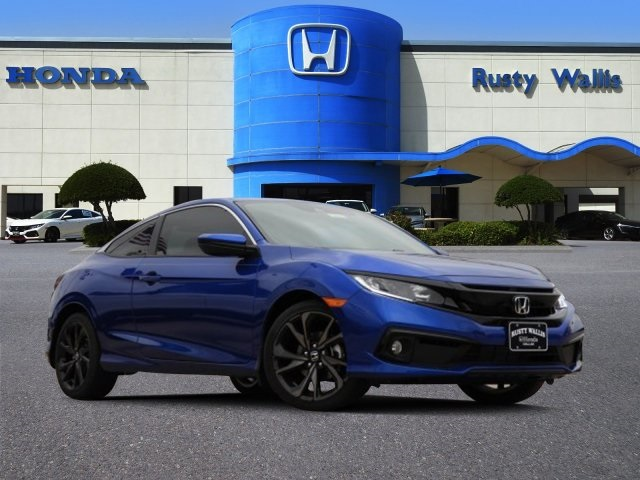 New 2019 Honda Civic Sport 20l I4 Dohc 16v I Vtec 2d Coupe In
