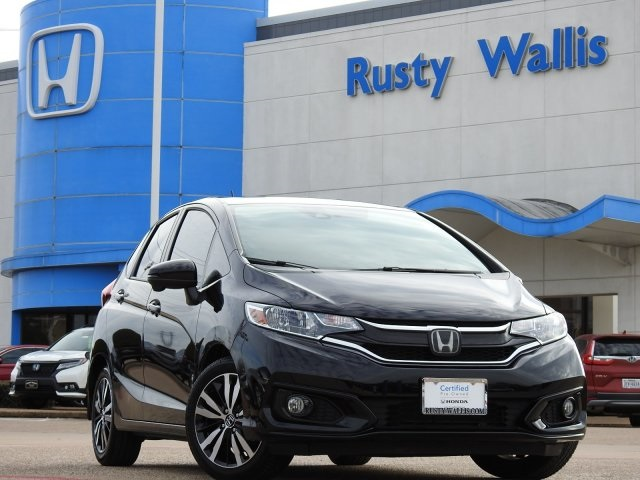 Certified Pre-Owned 2018 Honda Fit EX-L 1.5L I4
