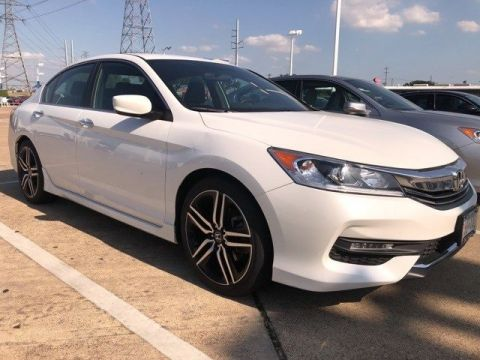Certified Pre-Owned 2017 Honda Accord Sport 2.4L I4 DOHC i-VTEC 16V