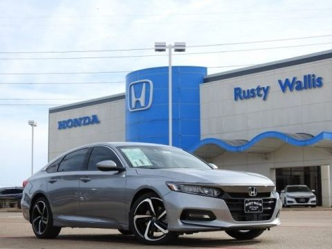 New 2020 Honda Accord Sport 1.5T I4 DOHC 16V Turbocharged VTEC