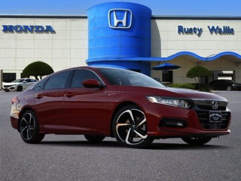 New 2019 Honda Accord Sport 1.5T I4 DOHC 16V Turbocharged VTEC