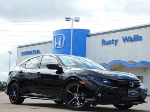 New 2020 Honda Civic Sport 1.5L I4 DOHC 16V