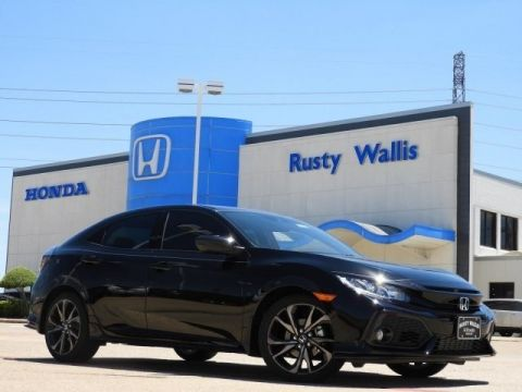 New 2019 Honda Civic Sport 1.5L I4 DOHC 16V